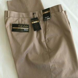 Roundtree & Yorke Chinos Pants 42x30 Supima Cotton